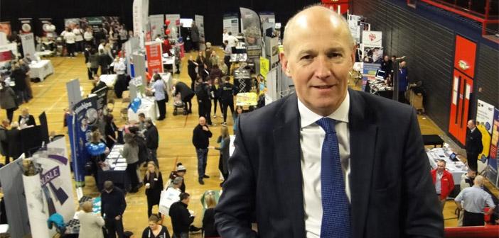 John at Carlisle Skills Fair