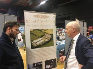 John at Carlisle Skills Fair 2018
