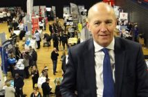 John at Carlisle Skills Fair