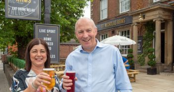 John visits St Nicholas Arms after Revival