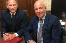 John discusses A69 with Transport Secretary Grant Shapps