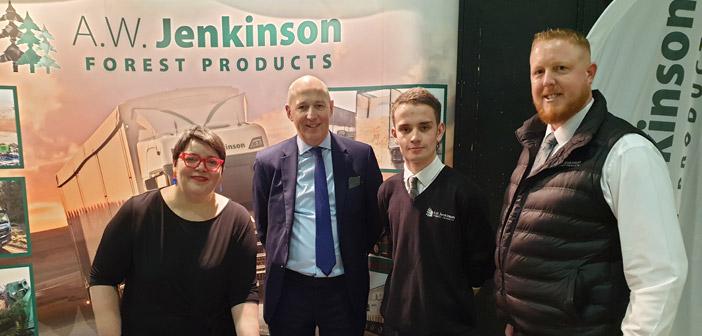 John at Skills Fair 2020