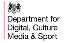 Department for Digital, Culture, Media, & Sport