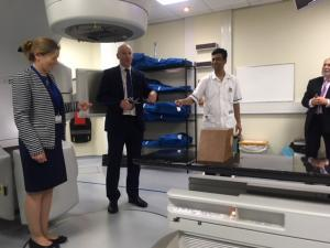 LINAC Machine Opening at Cumberland Infirmary