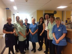 Visit to West Cumberland Hospital