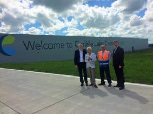 John visits Carlisle Airport
