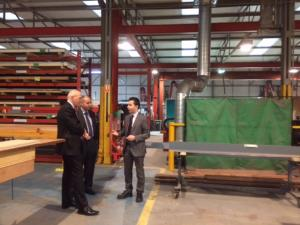 John recently visited Clark Door Ltd to find out more about their expansion plans