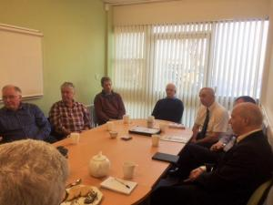 John meeting with members of the NFU