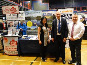 John at Carlisle Skills Fair 2017